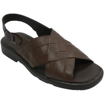 Zapatos Hombre Sandalias Calzados Fuensalida Sandalias hombre tiras trenzadas marrón