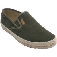 Zapatos Hombre Alpargatas Made In Spain 1940 Zapatillas hombre borde cáñamo beige