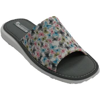Zapatos Mujer Pantuflas Andinas Zapatilla mujer ultraligera mariposas blanco