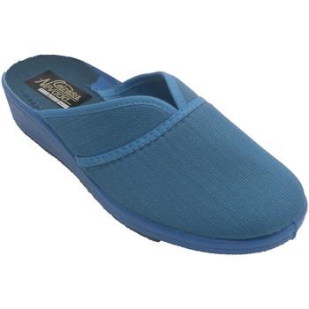 Zapatos Mujer Pantuflas Nevada Zapatilla mujer cerrada por la punta abi azul
