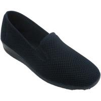 Zapatos Mujer Pantuflas Nevada Zapatilla mujer rejilla gomas laterales azul