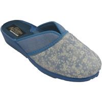 Zapatos Mujer Pantuflas Nevada Zapatilla mujer cerrada punta abierta de azul