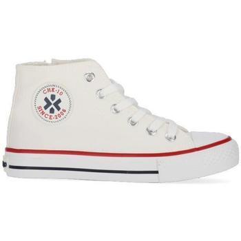 Zapatos Niños Zapatillas altas Chika 10 CITY KIDS 02N Blanco/White