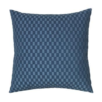 Casa Fundas de cojines Broste Copenhagen LINO Azul
