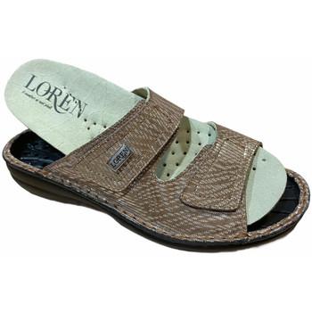 Zapatos Mujer Zuecos (Mules) Calzaturificio Loren LOM2829scuoio marrone