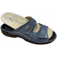 Zapatos Mujer Zuecos (Mules) Calzaturificio Loren LOM2829sjeans blu