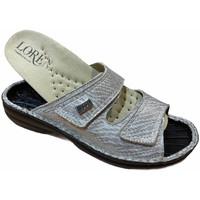 Zapatos Mujer Zuecos (Mules) Calzaturificio Loren LOM2829zsabbia blu
