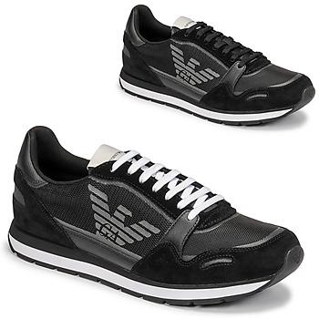 Zapatos Hombre Zapatillas bajas Emporio Armani ANIMA Negro