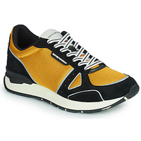 Zapatos Hombre Zapatillas bajas Emporio Armani TREMMA Negro / Amarillo