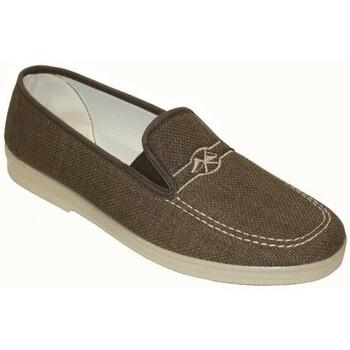 Zapatos Hombre Mocasín Cbp - Conbuenpie Zapatillas de Lona Clásicas para hombre by CBP Marron