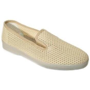 Zapatos Hombre Slip on Cbp - Conbuenpie Zapatillas de Lona Clásicas para hombre by CBP Beige