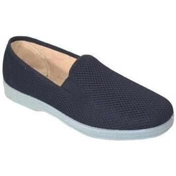 Zapatos Hombre Slip on Cbp - Conbuenpie Zapatillas de Lona Clásicas para hombre by CBP Bleu