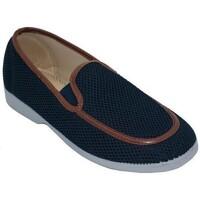 Zapatos Hombre Mocasín Cbp - Conbuenpie Zapatillas de Lona Clásicas para hombre by CBP Bleu