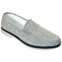 Zapatos Hombre Mocasín Cbp - Conbuenpie Zapatillas de Lona Clásicas para hombre by CBP Gris