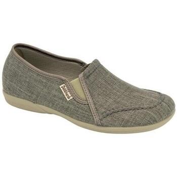 Zapatos Hombre Slip on Cbp - Conbuenpie Zapatillas de Lona Clásicas para hombre by CBP Gris