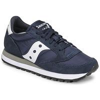 Zapatos Zapatillas bajas Saucony JAZZ ORIGINAL Marino / Blanco