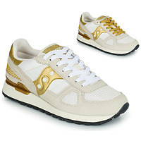 Zapatos Mujer Zapatillas bajas Saucony SHADOW ORIGINAL Blanco / Oro