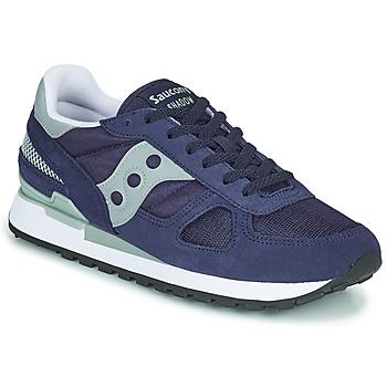 Zapatos Hombre Zapatillas bajas Saucony SHADOW ORIGINAL Marino / Gris