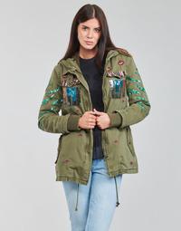 textil Mujer Parkas Desigual FLIX Kaki