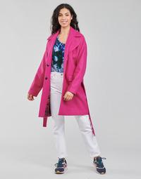 textil Mujer Abrigos Desigual RUBI Rosa
