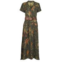 textil Mujer Vestidos largos Desigual AMSTERDAM Kaki