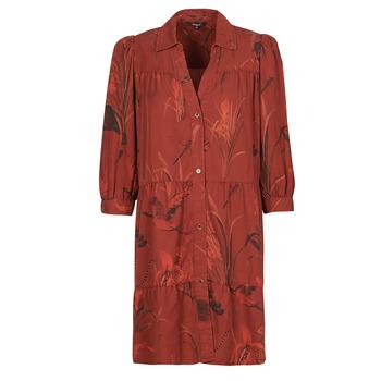 textil Mujer Vestidos cortos Desigual SEVILLA Rojo