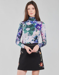 textil Mujer Camisetas manga larga Desigual INAYA Multicolor