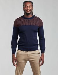 textil Hombre Jerséis Armor Lux PULL MARIN REVISITE Azul