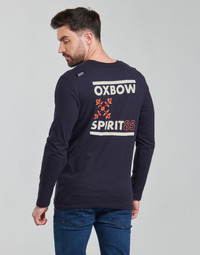 textil Hombre Camisetas manga larga Oxbow N2TORJOK Marino