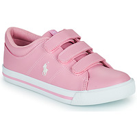 Zapatos Niña Zapatillas bajas Polo Ralph Lauren ELMWOOD EZ Rosa