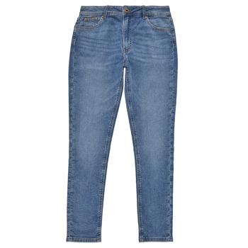textil Niña Vaqueros slim Pepe jeans PIXLETTE HIGH Azul