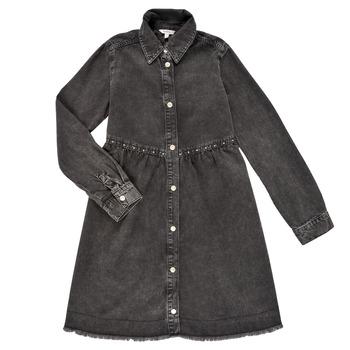 textil Niña Vestidos cortos Pepe jeans FLORIDA DRESS Negro