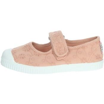 Zapatos Niña Bailarinas-manoletinas Cienta 76998 Rosa polvo