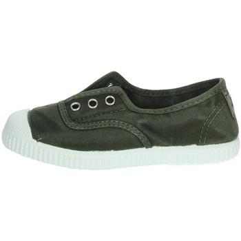 Zapatos Niño Tenis Cienta 70777 Verde obscuro