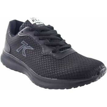 Zapatos Hombre Zapatillas bajas Sweden Kle Deporte caballero  412069 negro Negro