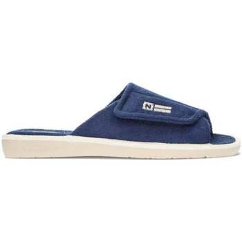 Zapatos Hombre Pantuflas Nordikas DE CASA  5451B MARINO