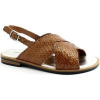 Zapatos Mujer Sandalias Frau FRA-E21-8677-CU Marrone