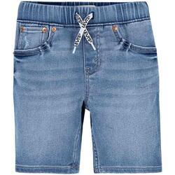 textil Niño Shorts / Bermudas Levi's LVB SKINNY DOBBY SHORT Azul