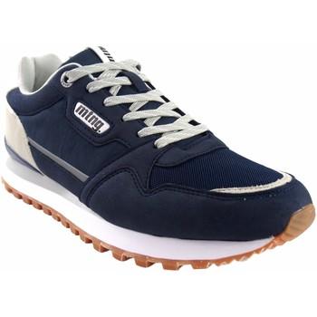 Zapatos Hombre Zapatillas bajas MTNG Zapato caballero MUSTANG 84698 azul Azul
