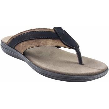 Zapatos Hombre Sandalias Kelara Sandalia caballero  8402 azul Azul