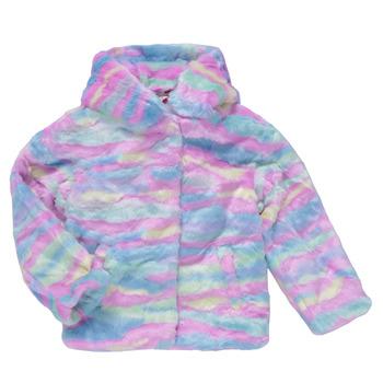 textil Niña Abrigos Desigual CONGO Multicolor