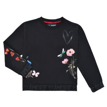 textil Niña Sudaderas Desigual ALICIA Negro