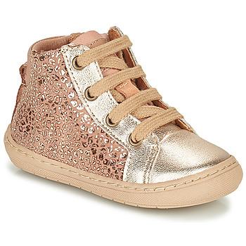 Zapatos Niña Botas de caña baja Bisgaard VILLUM Rosa