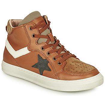 Zapatos Niño Zapatillas altas Bisgaard ISAK Cognac