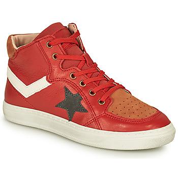 Zapatos Niño Zapatillas altas Bisgaard ISAK Rojo