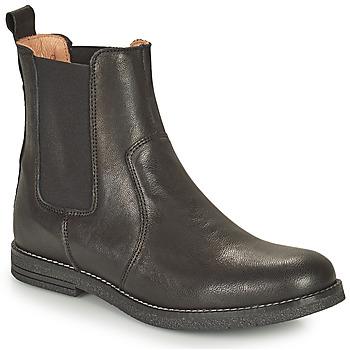 Zapatos Niña Botas de caña baja Bisgaard NANNA Negro