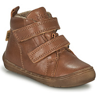 Zapatos Niño Zapatillas altas Bisgaard DEE Cognac