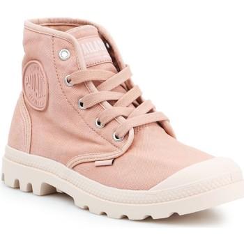 Zapatos Mujer Zapatillas altas Palladium Manufacture Pampa HI 92352-663-M rosado