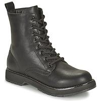 Zapatos Mujer Botas de caña baja Café Noir ETELA Negro