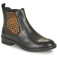 Zapatos Mujer Botas de caña baja Café Noir FRETINA Negro